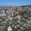 Aerial video city of  Honolulu Oahu Hawaii 4k