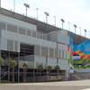 Florida Hospital gate at Daytons International Speedway