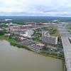 Aerial video Jeffersonville Indina 4k