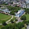 Aerial drone Downtown Richmond VA