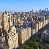 Aerial central park and the Metropolitan Museum of Art