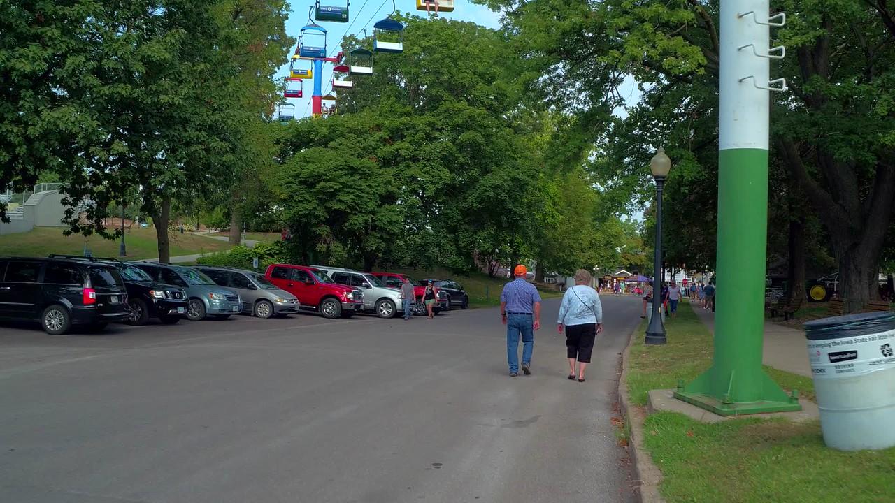 Sky Glider Iowa State Fair