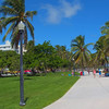 Footage Miami Beach Ocean Drive pathway