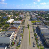 Aerial video Commercial Boulevard eastbound