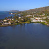 Drone video of luxury waterfront homes on the Peiko Peninsula Hawaii
