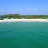 Aerial drone footage Haulover Beach inlet 4k 60p