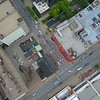 Aerial flyover droen video Louisville Kentucky