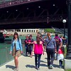 Motion video Chicago Riverwalk 4k