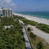 Miami Beach FL aerial 4k 60p