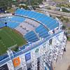 Aerial drone stock video Everbank Field Jacksonville