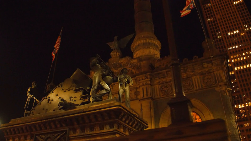 Stock video Soldiers and Sailors Monument Cleveland