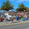 St Augustine Parade princess on a horse