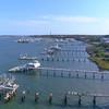 Storm destroyed docks St Augustine FL