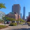 Cycling through Tribeca NY