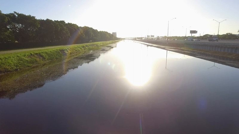 New River Canal by I595 Fort Lauderdale