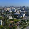 Aerial drone video Miami Civic Center 4k 60p