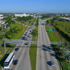 Key Largo Florida aerial flyover 4k 60p
