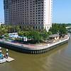 Aerial video of The Westin Savannah Harbor Golf Resort & Spa 4k 60p