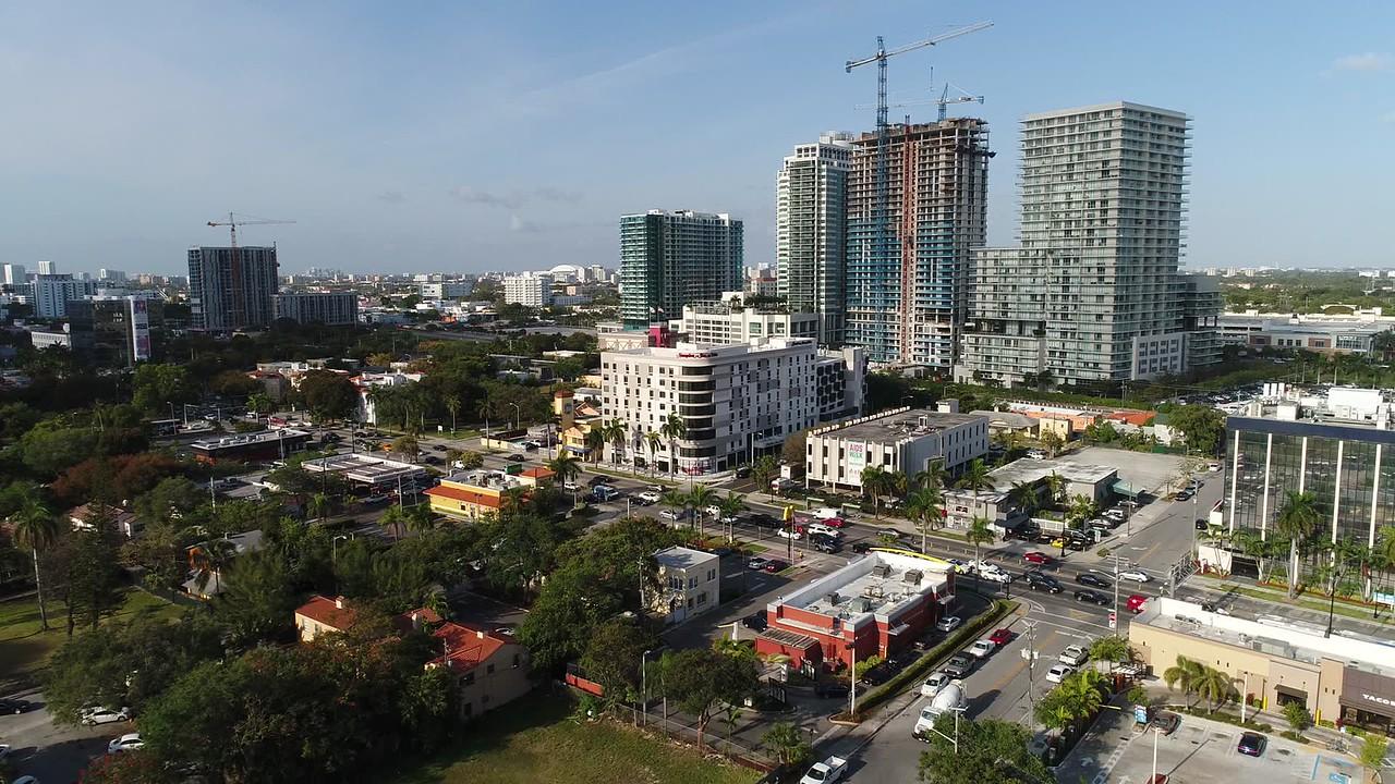 Midtown Miami aerial video