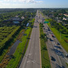 Aerial to Key West