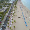 Fort Lauderdale Beach Florida 4k aerial video