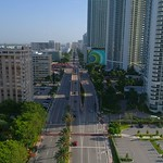 Aerial view Hallandale FL