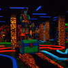 Neon Miniature Golf