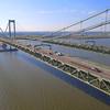 Aerial cars on the Delaware bridge