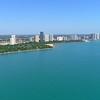 Evanston Beach Chicago hyperlapse 4x speed