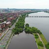 Aerial tour Boston June 2017 4k