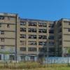 Abandoned crack building