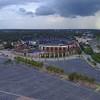 Aerial video Turner Field Atlanta Braves drone