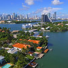 Helicopter tour Venetian Islands Miami Beach