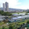 Aerial video of Lolani School and the Kozuki Stadium Honolulu
