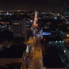 Wynwood Miami aerial night scene