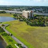 Aerial video Cornerstone business center Plantation Florida