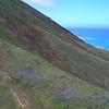 Koko Head volcanic mountain in Hawaii