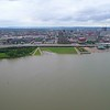 Aerial video Louisville Waterfront Park