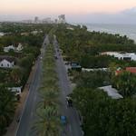 Aerial video Golden Beach Collins Avenue