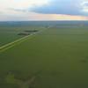 Aerial video agriculture farmland landscape 4k