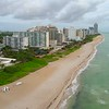Drone shot Miami Beach 4k 60p