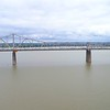 Aerial video George Rogers Clark Memorial Bridge