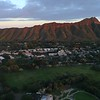 Aerial footage Diamond Head Honolulu Hawaii 4k 60p