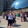 Gimbal stabilized video Chicago Glous Gate Bean 4k
