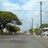 Driving on North King Street Honolulu