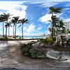 360 video of Waikiki Beach Hawaii, USA