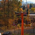 Stock footage Gatlinburg Skylift