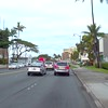 Driving on Ala Moana Boulevard past Cooke Street