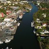 Miami River aerial video