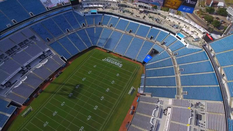Everbank Field Jacksonville aerial tour